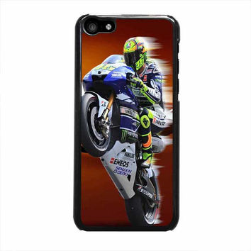 valentino rossi standing iphone 5c 5 5s 4 4s 6 6s plus cases