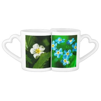 Wild Flowers Coffee Mug Set