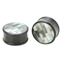 "Shell Wood Saddle Plug 2 Pack 3/4""-1"""