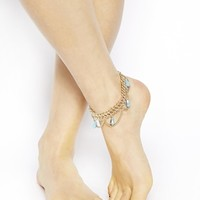 ASOS Summer Bead Anklet