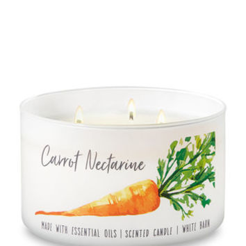 CARROT NECTARINE3-Wick Candle