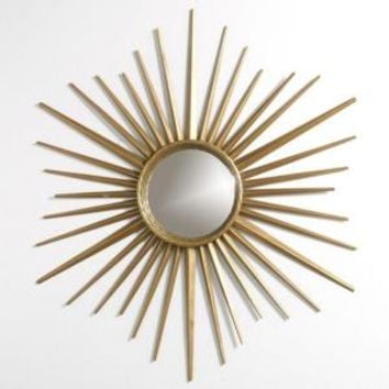 Martha Stewart Living, Wales 30 in. x 30 in. Metal Antique Gold Framed Mirror, 72930 at The Home Depot - Mobile
