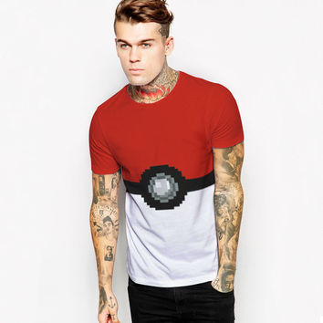 Sports Casual T Shirt game pokemon go  Camisetas anime 's T-shirt Letters Cotton Tee Famous  Clothing