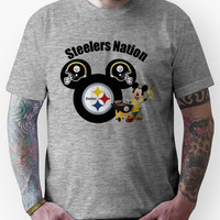 Steelers Nation football Mickey Mouse Unisex T-Shirt