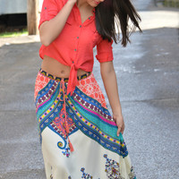 A Day Without You Maxi Skirt