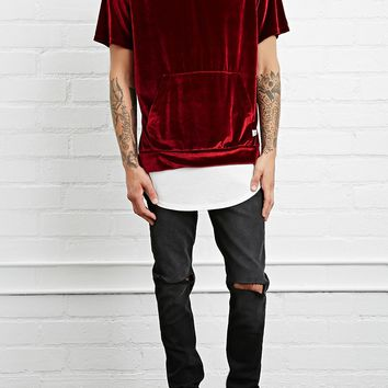 EPTM. Hooded Velour Tee
