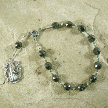 Hekate (Hecate) Pocket Prayer Beads: Greek Goddess of Magic and Witchcraft