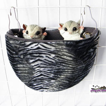 Sugar glider U shape sleeping pouch