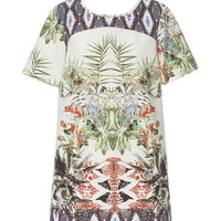 PRINTED SHIFT DRESS - Dresses - Woman - ZARA United Kingdom