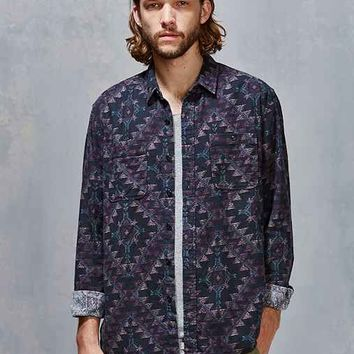 Stapleford Roan Printed Flannel Button-Down Shirt