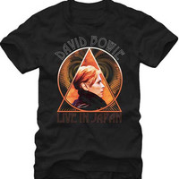 David Bowie Geometric Adult T-Shirt