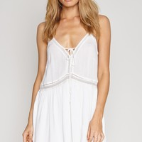 AMUSE SOCIETY - Morning Light Dress | White
