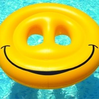 Swimline® Smiley Face Island™ - PoolSupplies.com