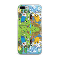 ADVENTURE TIME CUSTOM IPHONE CASE