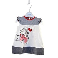 Baby Girls Toddlers A-Line Dress Girls Kids One-pieces Dress Clothe baby girls dress dog print cute clothing