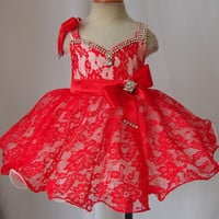 Infant/toddler/baby/children/kids/newborn Girl's Pageant evening/prom Dress/clothing for birthday,bridal,gift,party, 1~5T G213