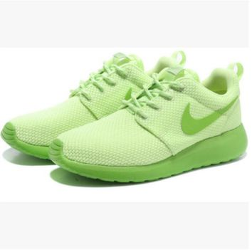 NIKE Women Men Running Sport Casual Shoes Sneakers Light green