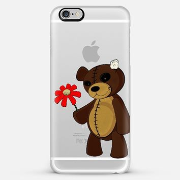 SWEET TEDDY - TRANSPARENT iPhone Case