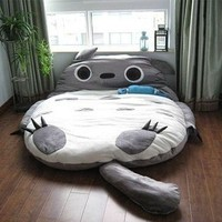 Leyou Totoro Design Bigsofa 2.7x1.7m Totoro Bed Totoro Double Bed Totoro Sleeping Bag:Amazon:Home & Kitchen