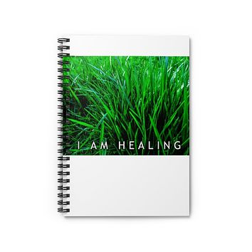 I AM HEALING Spiral Notebook - Ruled Line