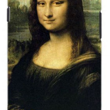 The Mona Lisa Themed Art Portrait Unique Quality Soft Rubber TPU Case for Samsung Galaxy S4 I9500 - White Case