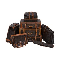 Louis Vuitton 8 Piece Traveling Luggage 1970's - 1990's