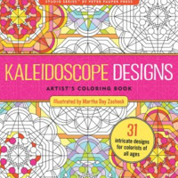 Kaleidoscope Designs Artist's Coloring Book