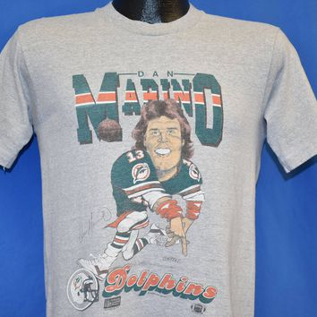 80s Dan Marino #13 Miami Dolphins NFL Football t-shirt Small