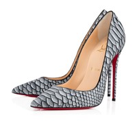 So Kate 120 Black Python - Women Shoes - Christian Louboutin