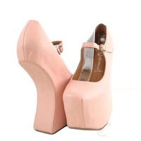 Jeffrey Campbell night walk nude