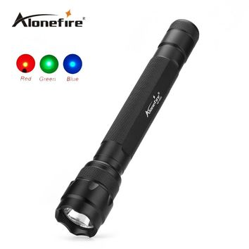 LED Flashlight 3 Light Colors Available (350 Lumens)