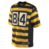 Nike NFL Pittsburgh Steelers (Antonio Brown) Men's Football Alternate Game Jersey