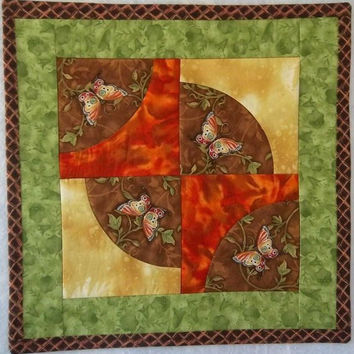 Quilted Wall Hanging - Butterfly Wall Quilt