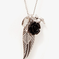 Nature-Inspired Charm Necklace