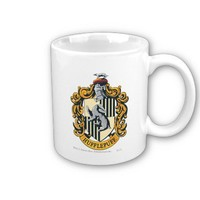 Hufflepuff Crest Coffee Mugs from Zazzle.com