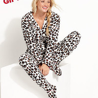 Jenni by Jennifer Moore Hooded Footed Pajamas