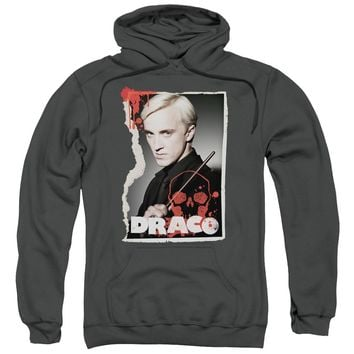 Harry Potter - Draco Frame Adult Pull Over Hoodie Officially Licensed Apparel