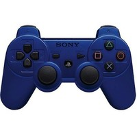 PlayStation 3 Dualshock 3 Wireless Controller (Blue):Amazon:Video Games