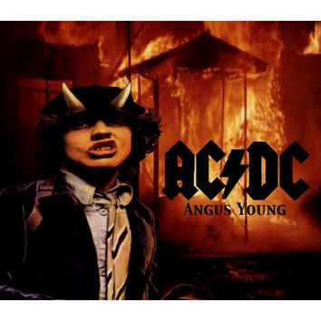 Very Nice Music Mouse Pad AC DC Angus Young #2