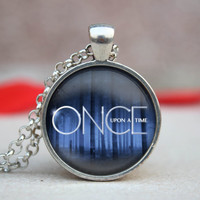 Once upon a time pendent once upon a time Necklace ,once upon a time Pendant Necklace best friend gift