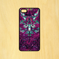 Trippy Cat Abstract Art Phone Case iPhone 4 / 4s / 5 / 5s / 5c /6 / 6s /6+ Apple Samsung Galaxy S3 / S4 / S5 / S6
