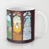 Spirit of the seasons Mug by Anna-Maria Jung