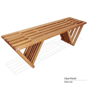 touchGOODS Premium White Oak Bench X60