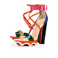 Atletika 140 Version Multi Patent Leather - Women Shoes - Christian Louboutin