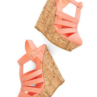 ModCloth Pastel Coastal Cookout Wedge