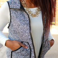 THE SPECK PUFF VEST
