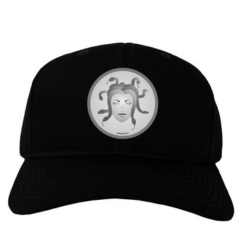 Medusa Head Coin - Greek Mythology Adult Dark Baseball Cap Hat by TooLoud