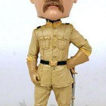 Royal Bobbles Teddy Roosevelt Bobblehead - Officially licensed