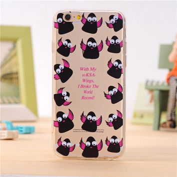 2017 3D Cartoon Animal Fruits Pattern Fundas Cover Case for iPhone 7 6 6S Plus 5 5S 5SE 4 4S TPU Silicon Soft Sleeve Shell