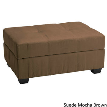 Vanderbilt Tufted Panel Stitched Padded Hinged Storage Ottoman Bench (36 x 24) | Overstock.com Shopping - The Best Deals on Ottomans